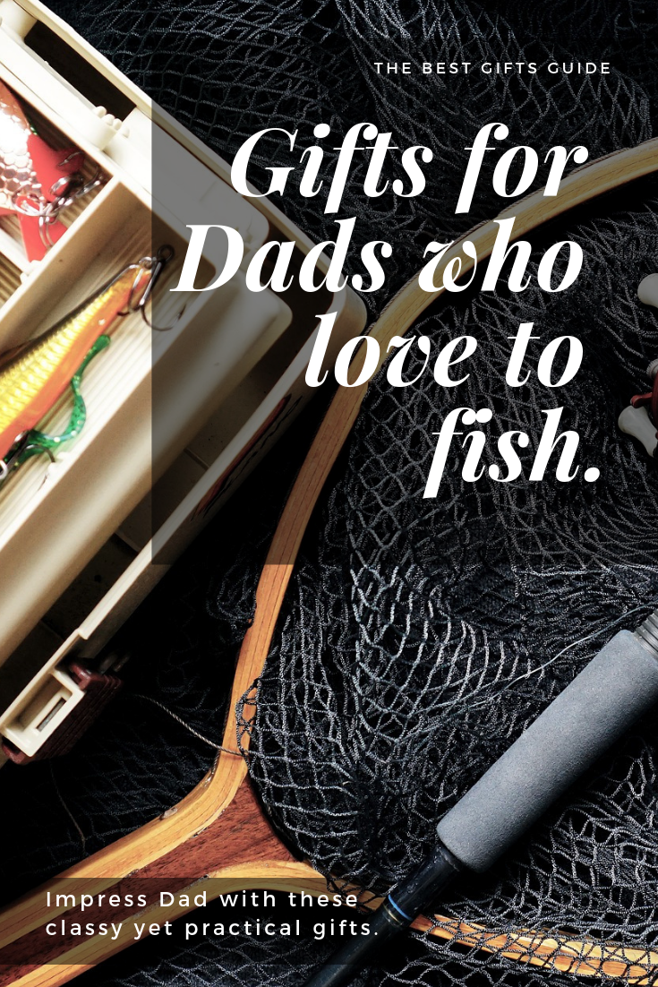 You are sure to find a great gift for a Dad that loves to fish in this guide.